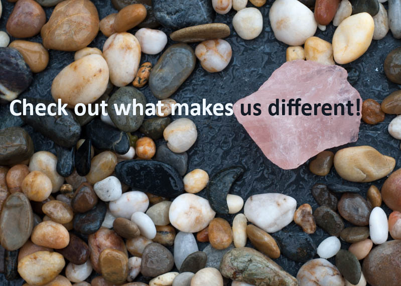 check out what makes us different